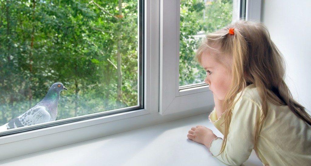 Детский замок на окна